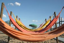Hammocks Royalty Free Stock Image