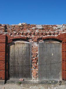 Pawt Ruins Stock Photography