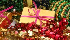 Free Christmas Gifts Royalty Free Stock Photos - 1551908