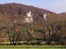 Autumn Rocks Royalty Free Stock Image