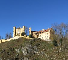 Free Hohenschwangay Castle Royalty Free Stock Photos - 1552238