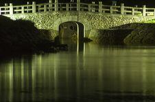 Free Evening Bridge Royalty Free Stock Photos - 1552788