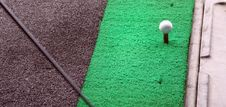 Free Golf Training Mat Royalty Free Stock Image - 1554356