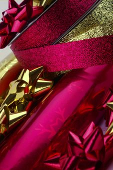 Christmas Wrapping - 2 Stock Photography