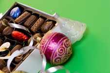 Free Christmas Chocolates Stock Photo - 1555770