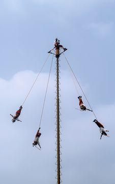 Free Mexican Acrobats Stock Photos - 1555943