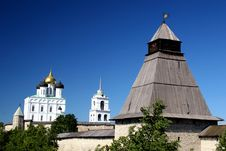 Free Pskov. The Kremlin. Royalty Free Stock Images - 1556989