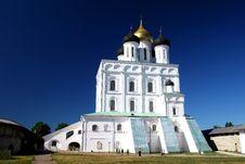 Free Pskov. The Kremlin. Royalty Free Stock Image - 1557036
