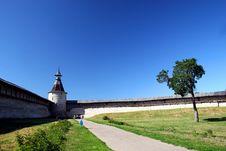 Free Pskov. The Kremlin. Stock Images - 1557054