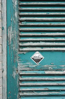Free Corrosive Door Stock Photo - 1557390