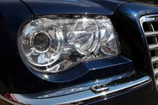 Free Car Headlight Stock Photo - 1558770