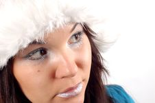 Free Winter Woman 5 Royalty Free Stock Image - 1558876