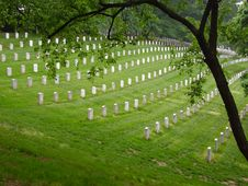 Free Headstones On A Hill Stock Image - 1558941