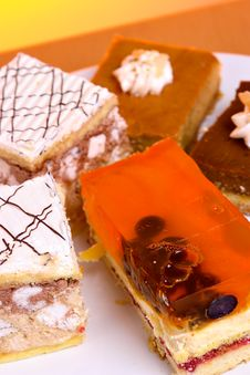 Free Cake Plate Stock Image - 1559661