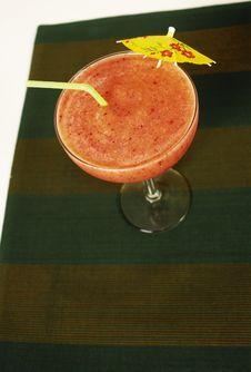 Free Strawberry Smoothie Royalty Free Stock Image - 1559916