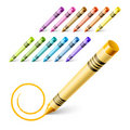 Free Drawing Crayons Royalty Free Stock Photos - 15501328