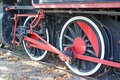 Free Two Locomotive Wheels Stock Photo - 15502900