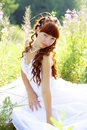 Free Beautiful Girl In A Dress Stock Photos - 15503973