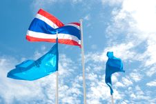 Free Thai Flag Stock Image - 15500021