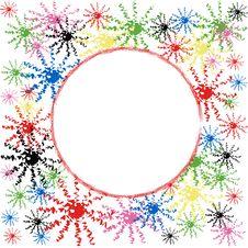 Free Christmas,New Year Frame. Stock Image - 15500281
