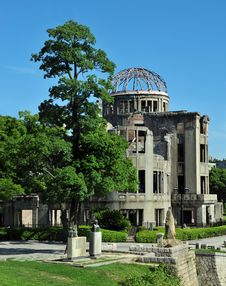 Free Hiroshima Japan Atomic Dome Stock Images - 15501064