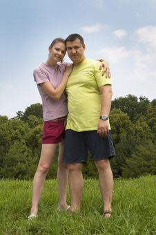 Free Young Couple Royalty Free Stock Images - 15501639