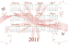 Free 2011 Calendar Stock Images - 15501724