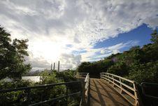 Free Bridge And Sky Stock Photo - 15502320