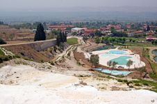 Free Landscape With Calcium Relief In Pamukkale Stock Images - 15502594