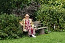 Free Senior Lady Royalty Free Stock Photos - 15502628
