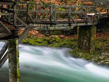 Free Wooden Bridge Stock Photo - 15502710