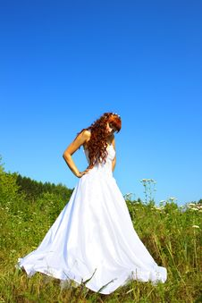 Free Bride In Nature Royalty Free Stock Photography - 15504037