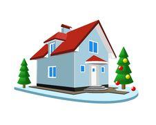 Free Winter Landscape Stock Image - 15504241