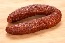 Free Smoked Sausage Royalty Free Stock Photos - 15504558
