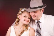 Free Happy Newly-wed Stock Photo - 15504650