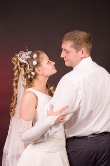Free Happy Newly-wed Royalty Free Stock Photo - 15504665