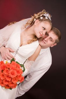 Free Happy Newly-wed Royalty Free Stock Photos - 15504698