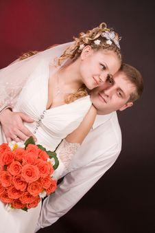 Free Happy Newly-wed Royalty Free Stock Photos - 15504698