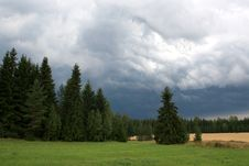 Free Storm Clouds Approaching Countryside Stock Photos - 15505213