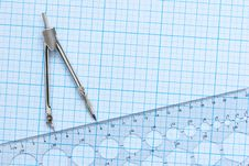 Free Drawing Tools Background Royalty Free Stock Image - 15506136