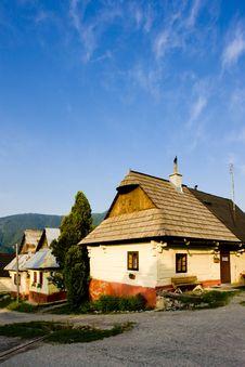 Village Of Vlkolinec Royalty Free Stock Photography