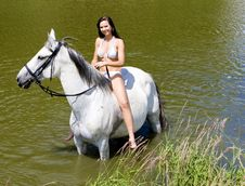 Free Equestrian On Horseback Royalty Free Stock Images - 15506789