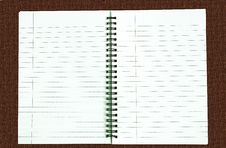 Free Notebook, Blank For Your Copy Stock Photos - 15507043