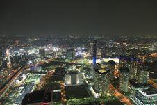 Free Osaka At Night Royalty Free Stock Photos - 15508088