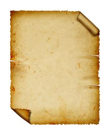 Free Vintage Paper. Stock Photography - 15508372