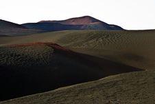 Free Volcanic Landscape In National Park Timanfaya Stock Image - 15508491