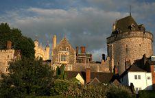 Near Windsor Castle Royalty Free Stock Photography