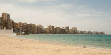 Free View On Seafront City Royalty Free Stock Photo - 15509075