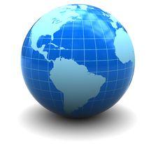 Free Earth Globe Royalty Free Stock Photo - 15509415