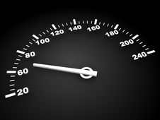 Free Speedometer Royalty Free Stock Images - 15509449